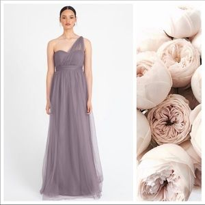 Jenny Yoo Annabelle Tulle Dress in Lilac Size 2